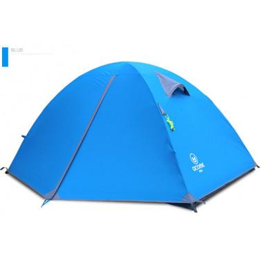 Двухместная палатка, Acome, POLO2, цвет голубой, палатка для туризма и отдыха, палатки в Алматы