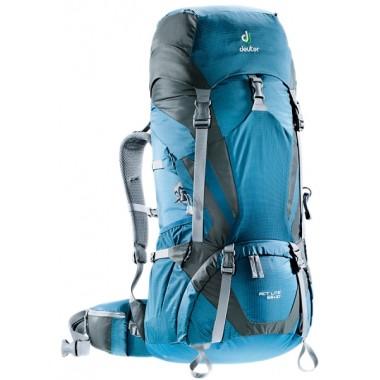 Рюкзак туристический Deuter ACT Lite 65+10, цвет синий, туристические рюкзаки в Алматы