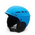 Горнолыжный шлем GSOU SNОW, голубой матовый, L