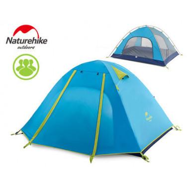 Трехместная палатка, NatureHike NH15Z003-P, Professional 3, палатка Naturehike, цвет синий, с доставкой по Казахстану