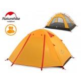 Двухместная палатка NatureHike P Series, NH15Z003-P, цвет оранжевый