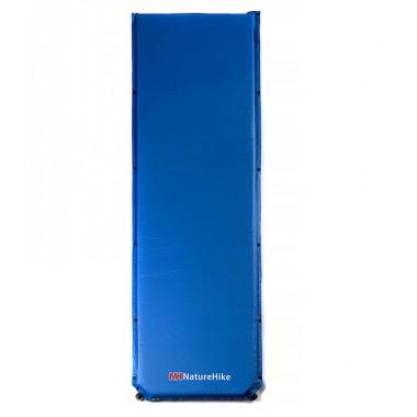 Туристический влагостойкий каремат Naturehike NH15Q003-D, Коврик самонадувающийся, синий