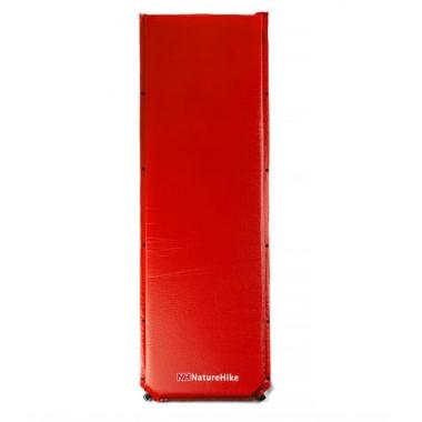 Туристический влагостойкий коврик Naturehike NH15Q003-D, Каремат самонадувающийся, красный