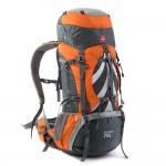 Рюкзак туристический Naturehike, цвет оранжевый, 70л
