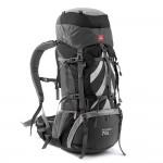 Рюкзак туристический Naturehike, цвет черный, 70л