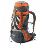 Рюкзак туристический Naturehike 70B070-B, оранжевый, 70л