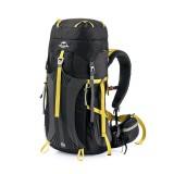 Рюкзак туристический Naturehike, цвет черный, 65л
