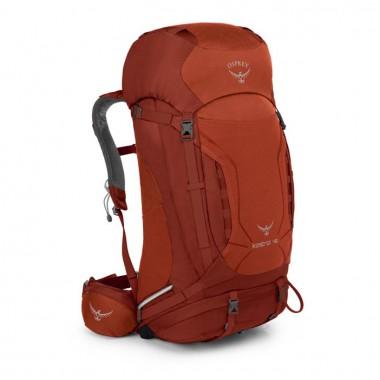 Американский Рюкзак Osprey, рюкзак для путешествий, рюкзак для треккинга, Osprey Kestrel 48 Red, доставка по Казахстану