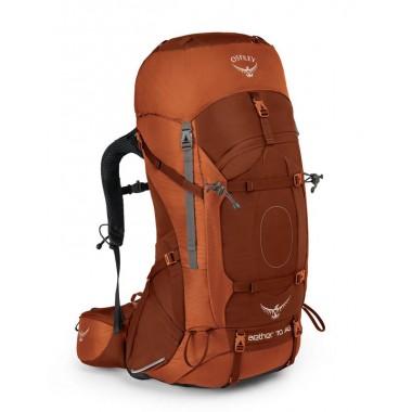 Рюкзак Osprey Aether AG 70, цвет Outback Orange, Подвесная система AG AntiGravity™ 3D
