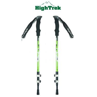 Альпенштоки, HIGHTREK, цвет зеленый, длина 65-135 см (пара), треккинговые палки купить в Алматы
