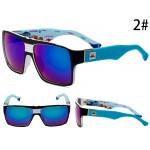 Очки Quicksilver 729 черно-синяя оправа с фиолетовыми линзами С2