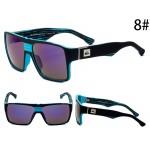 Очки Quicksilver 729 черно-синяя оправа с фиолетовыми линзами С8