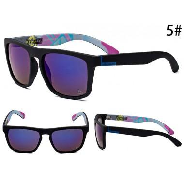 Очки Quicksilver 731 черная оправа с фиолетовыми линзами С5