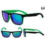 Очки Quicksilver 731 черно-зеленая оправа с синими линзами С6