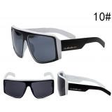 Очки Quicksilver черно-белая оправа с темными линзами С10