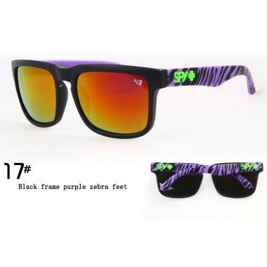 Очки SPY+ Ken Block черная оправа с черно-фиолетовыми дужками С17