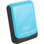 Power bank PNY 78S цвет желтый и голубой