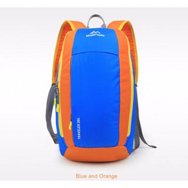 Рюкзак Maleroads, MLS2930, объем 20л, цвет синий, доставка по Казахстану