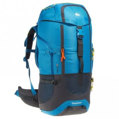 Рюкзак туристический купить, Горный рюкзак, QUECHUA Forclaz 60L, цвет синий, доставка по Казахстану