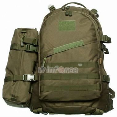 Рюкзак тактический Winforce 3-Day Assault Pack, Рюкзак военный, цвет зеленый, Тактические рюкзаки купить с доставкой