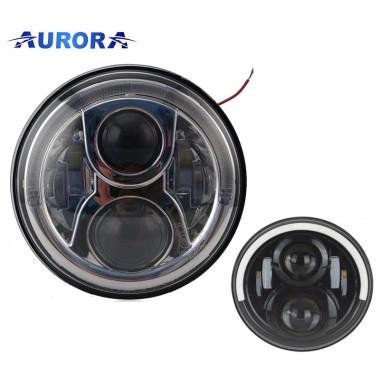 Круглые фары Aurora, головной свет Aurora, HCR PL, Aurora купить, DRL / EMark / DOT, 2шт