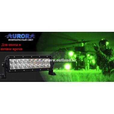 Фара Aurora инфракрасного света ALO-10-P4E4F 850nm, длина 35см, инфракрасная фара