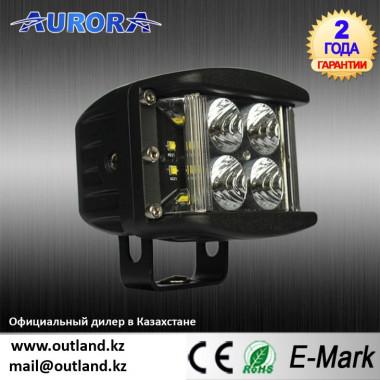 Новая модель AURORA, ALO-2-P4E15J, мощность 40w, Широкий угол освещения 180°, Фары рабочего света, Официальный дилер Aurora в Казахстане, доставка по Казахстану
