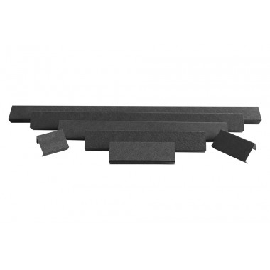 ALO-AC20 Защитная крышка для фары, цвет чёрный, ABS пластик, 51 см