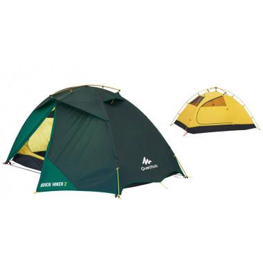 Купить палатку, QUECHUA Quickhiker 2-х местн., туристическая палатка, палатка для кемпинга, Палатки и тенты туристические купить