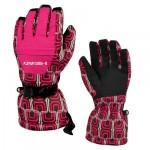 Женские перчатки Head, цвет красный, размер M