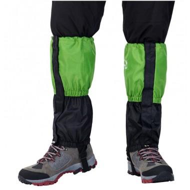 Гетры WindTour снегозащитные гетры, цвет зеленый и синий