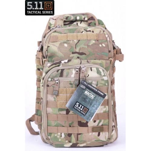 Элитный тактический рюкзак 5.11 Tactical All Hazards Prime, цвет multicam, отправка по Казахстану