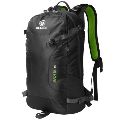 Рюкзак туристический, ACOME Berlin, цвет черный, рюкзак 25 литров, рюкзак для путешествий