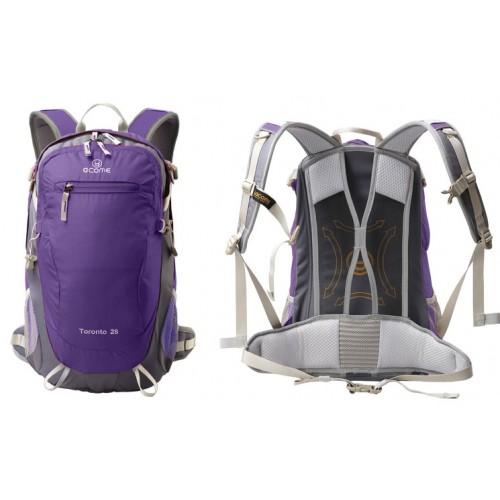 Рюкзак городской, ACOME Toronto, цвет фиолетовый, рюкзак 28 литров, рюкзак для туризма