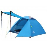 3-х местная туристическая палатка Acome Sunrise цвет синий