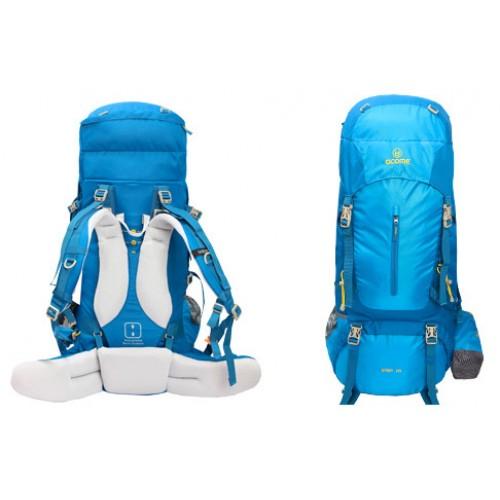 Рюкзак ACOME Trekking цвет синий, рюкзак 55 литров, Интернет магазин Профессиональных рюкзаков