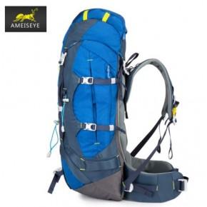 Рюкзак Ameiseye 65L Outdoor Trekking цвет синий MY6002