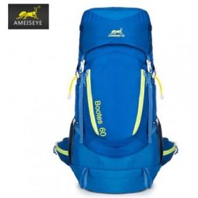 Рюкзак Ameiseye 60L Outdoor Trekking цвет синий MY6005