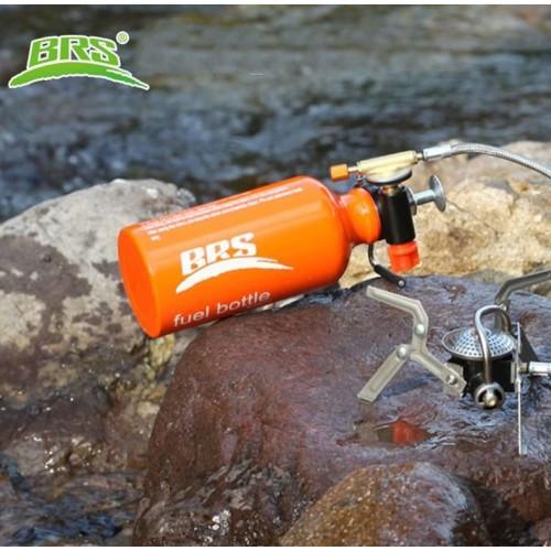 Алюминиевая топливная бутылка BRS, для хранения топлива для наружного горения