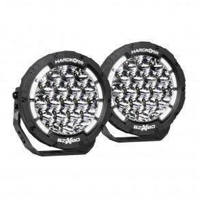 Круглые фары Hardkorr BZR-X Series 7″ LED DRL (пара)