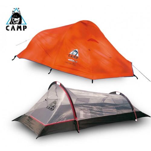 Итальянская палатка Camp Minima 2, Ультралегкая палатка, 2-х местная трехсезонная треккинговая палатка