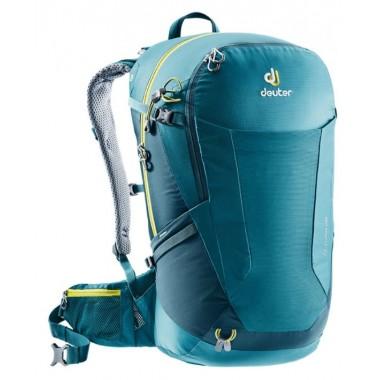Обновленная модель рюкзака Deuter Futura 28 (2018), цвет голубой, рюкзак для однодневных походов налегке