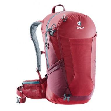 Обновленная модель рюкзака Deuter Futura 28 (2018), цвет красный, рюкзак для однодневных походов налегке