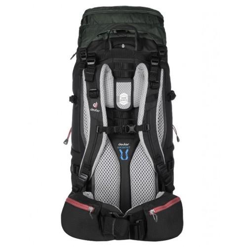женский рюкзак Deuter Aircontact Lite 35+10 SL, цвет graphite (black-grey), модель 2018, Интернет-магазин Deuter