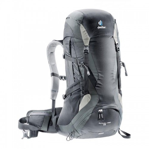 Рюкзак туристический Deuter Futura Pro 36, цвет black granite, рюкзак для альпинизма и коротких походов