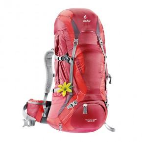 Рюкзак женский Deuter Futura Vario 45+10 SL, цвет красный