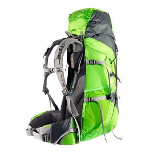 Рюкзак туристический Deuter ACT Lite 65+10, цвет зеленый, туристические рюкзаки в Алматы