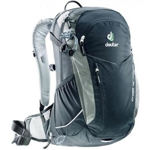 Многофункциональный велосипедный рюкзак Deuter Air Cross Exp, цвет черный, велорюкзак