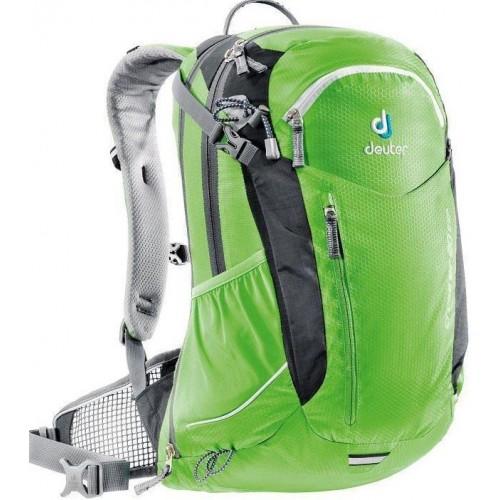 Многофункциональный велосипедный рюкзак Deuter Air Cross Exp, цвет зеленый