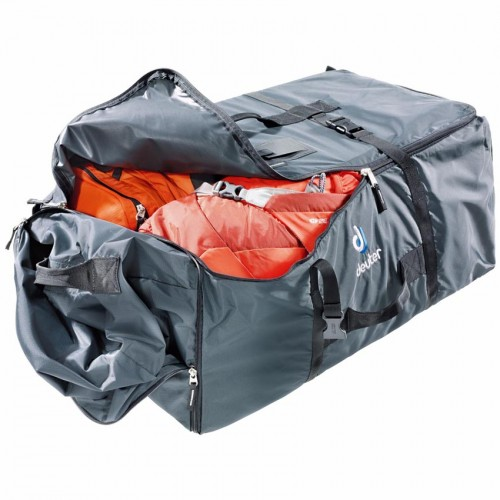 Сумка для вещей, Багажная сумка DEUTER Cargo Bag EXP, обьем 90+30 литров, дорожная сумка